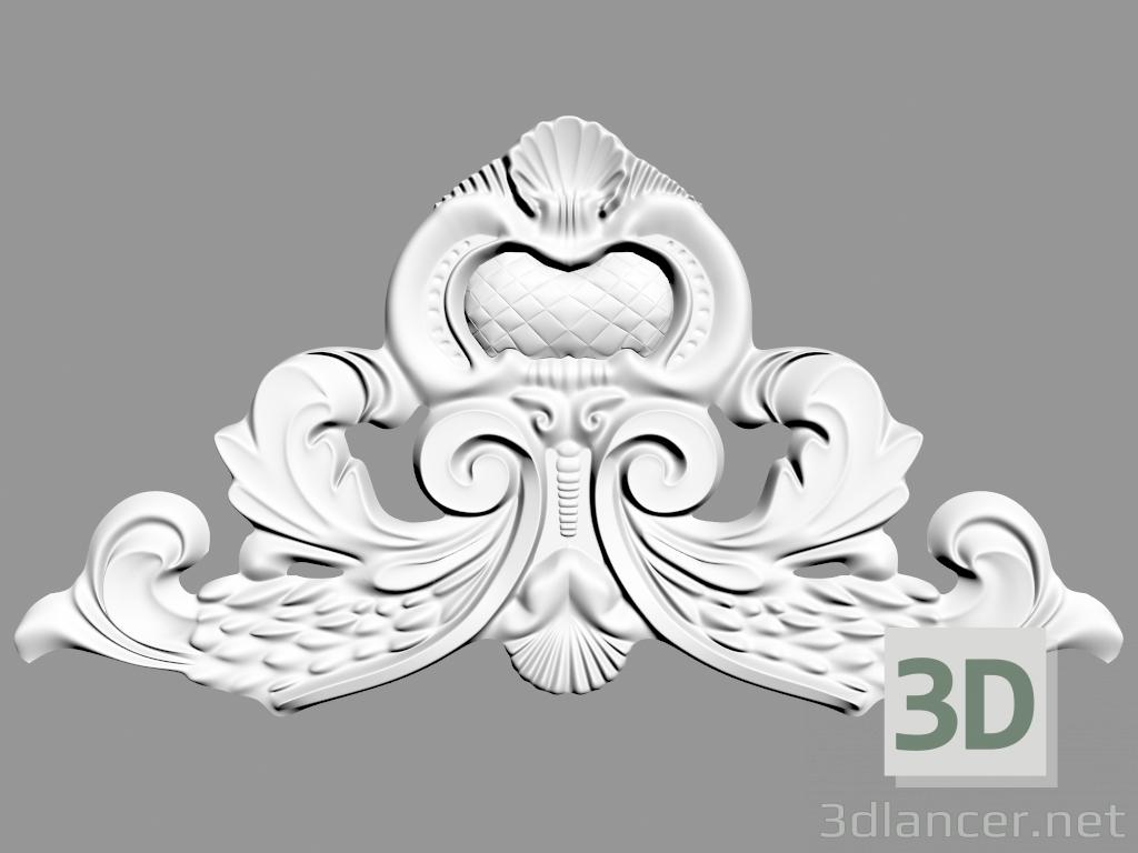 3d model Wall decoration (F53),Sabur Decor max(2013), - Free