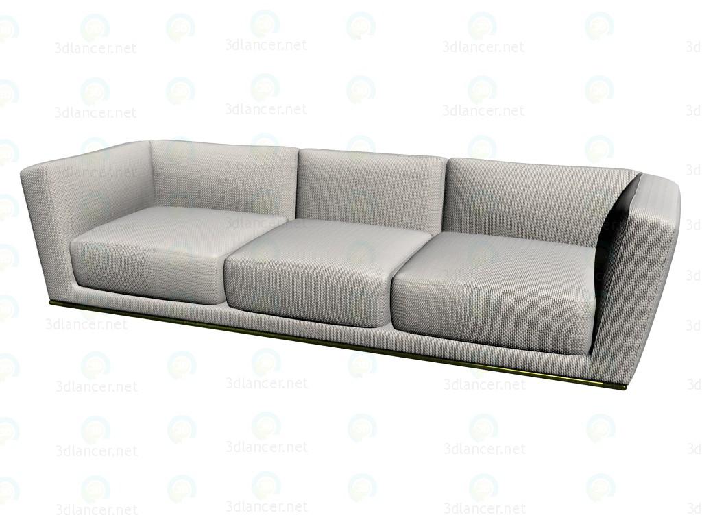 3d modell sofa l11da292 vom hersteller b b italia sammlung luis sofas kostenlos herunterladen. Black Bedroom Furniture Sets. Home Design Ideas