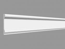 Door frame (molding) DX121-2300 (230 x 9.4 x 2.3 cm)