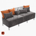 3d model Combo sofa - preview