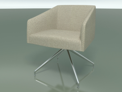 Armchair 2706 (with fabric upholstery, swivel, LU1)