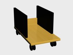 mesa de accesorios Mono Suite (debajo de la unidad de sistema de estantes PCR01)