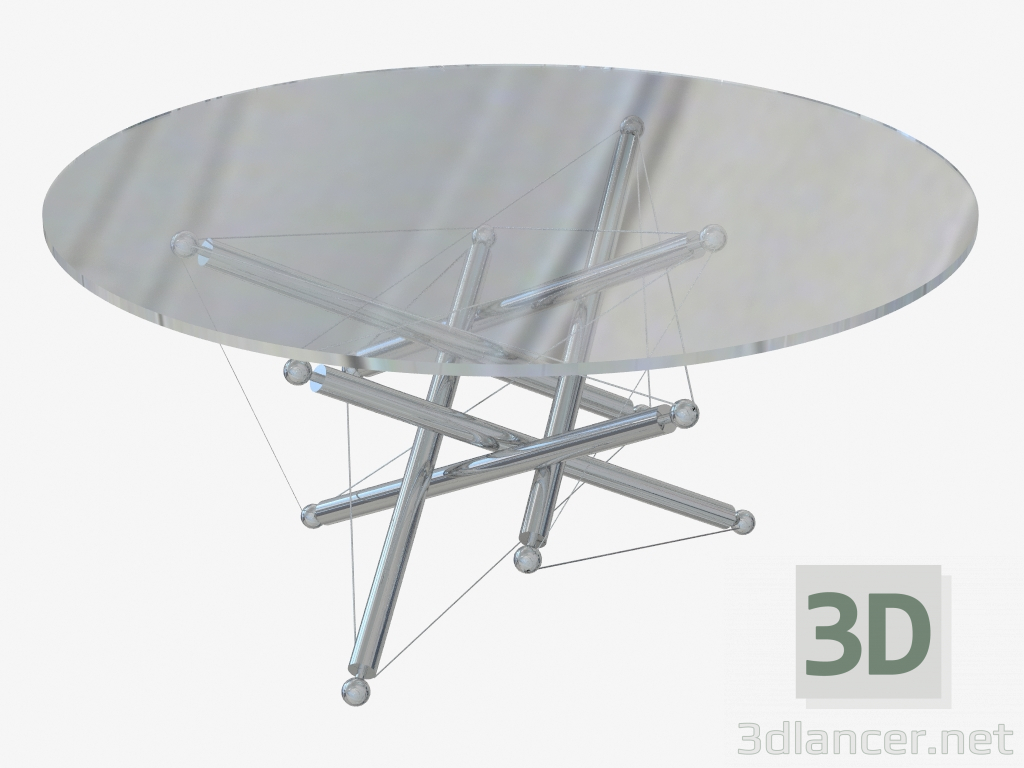 3d model Mesa de centro 713 - vista previa