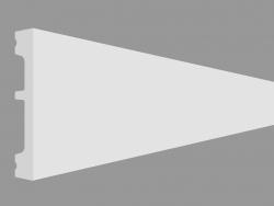 Plinth DX157-2300 - SQUARE (230 x 6.6 x 1.3 cm)