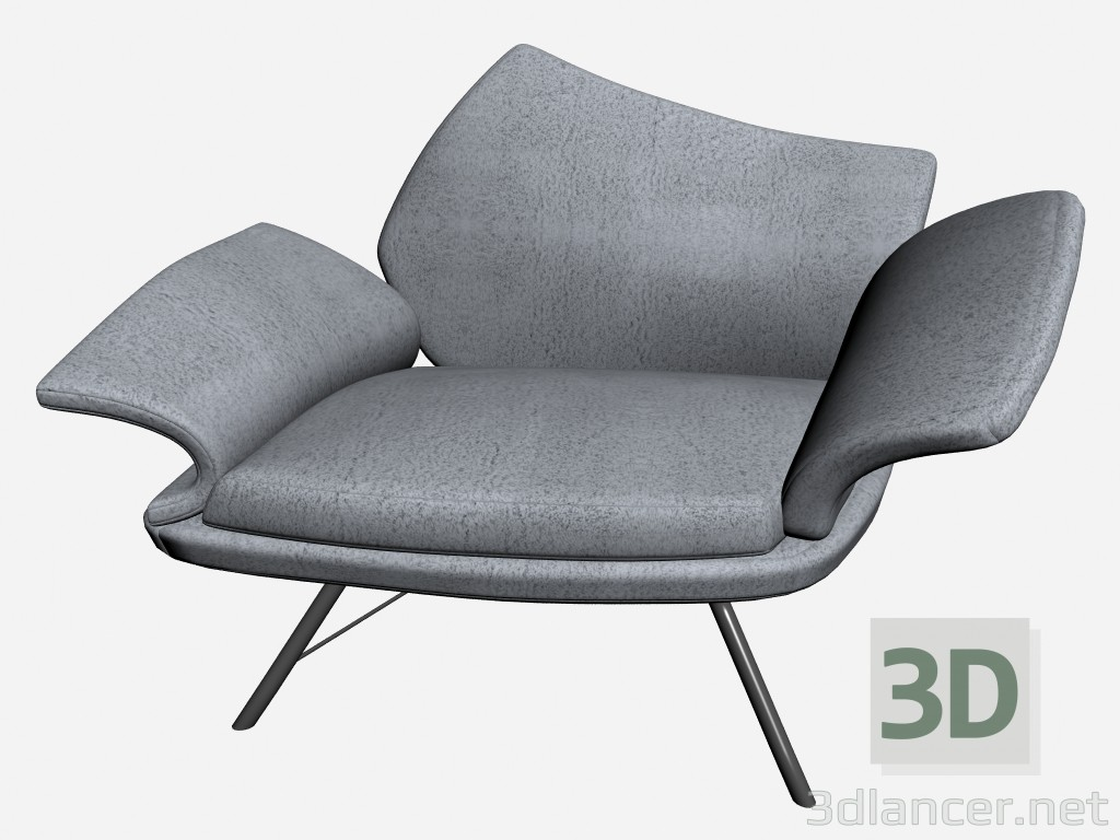 3d model Chair Njalina - preview