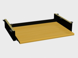 Accessory for tables Mono-lux (shelf for keyboard PK500)