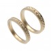 3d Wedding rings model buy - render