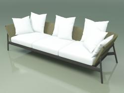 Sofa 003 (Metal Smoke, Batyline Olive)