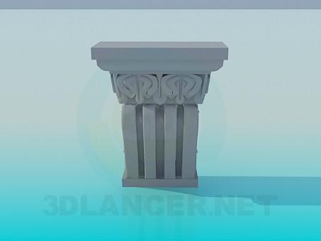 3d model Decorative element - preview