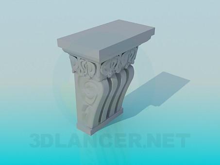 3d модель Декоративний елемент – превью