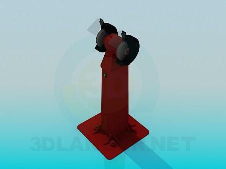 3d модель Точильний верстат – превью