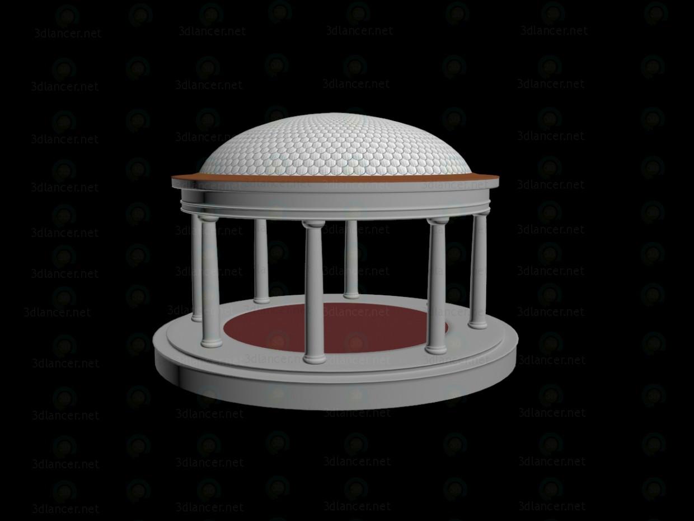 3 डी मॉडल गार्डन हाउस - पूर्वावलोकन