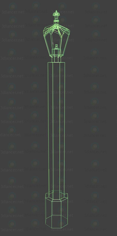 3d модель Ліхтар – превью