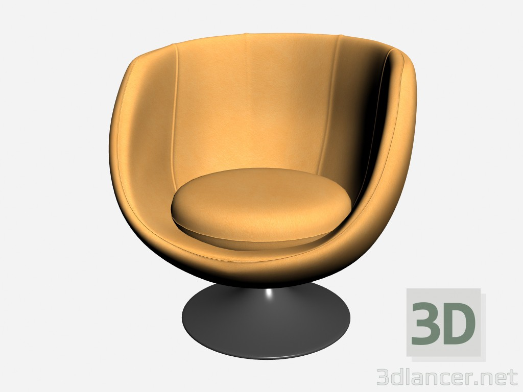 3d model Armchair Nycol - preview