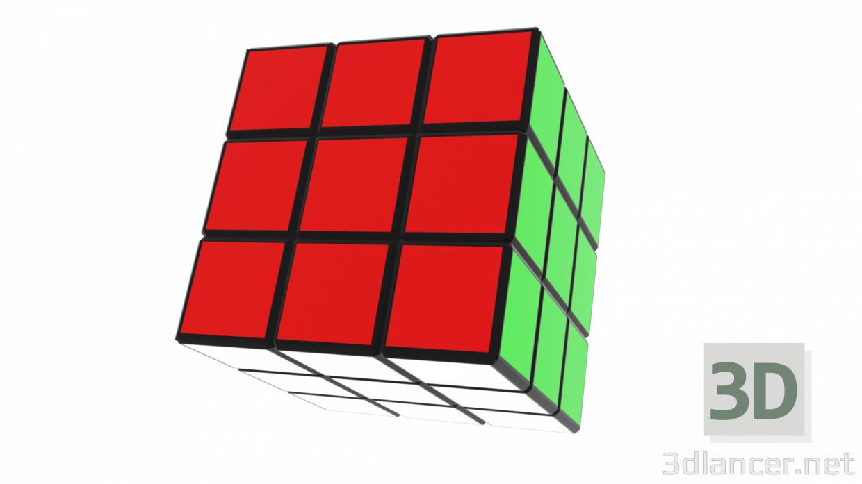 3d model Rubik's Cube - preview