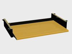 Accessory for tables Mono-lux (a shelf under the keyboard РК570)