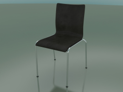 4-leg chair with leather upholstery (101)