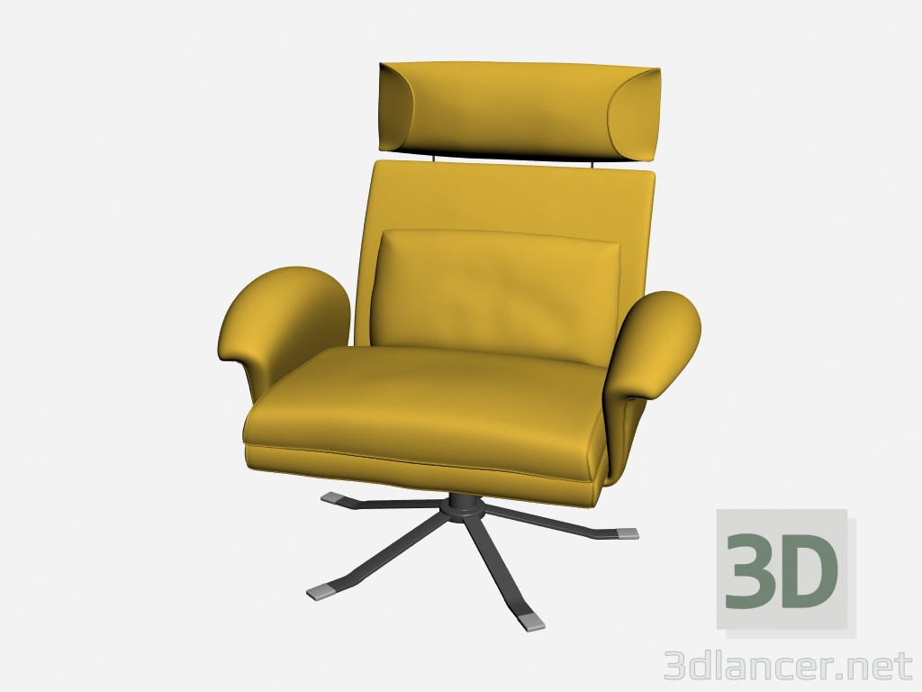 3d model Chair Park - preview