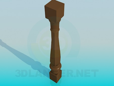 3d model Baluster - preview