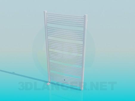modelo 3D Secador de toallas en el baño - escuchar