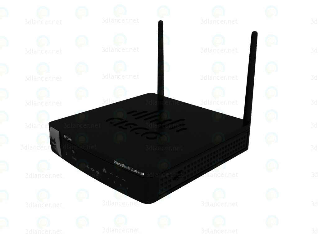 modelo 3D Router Cisco RV215W - escuchar
