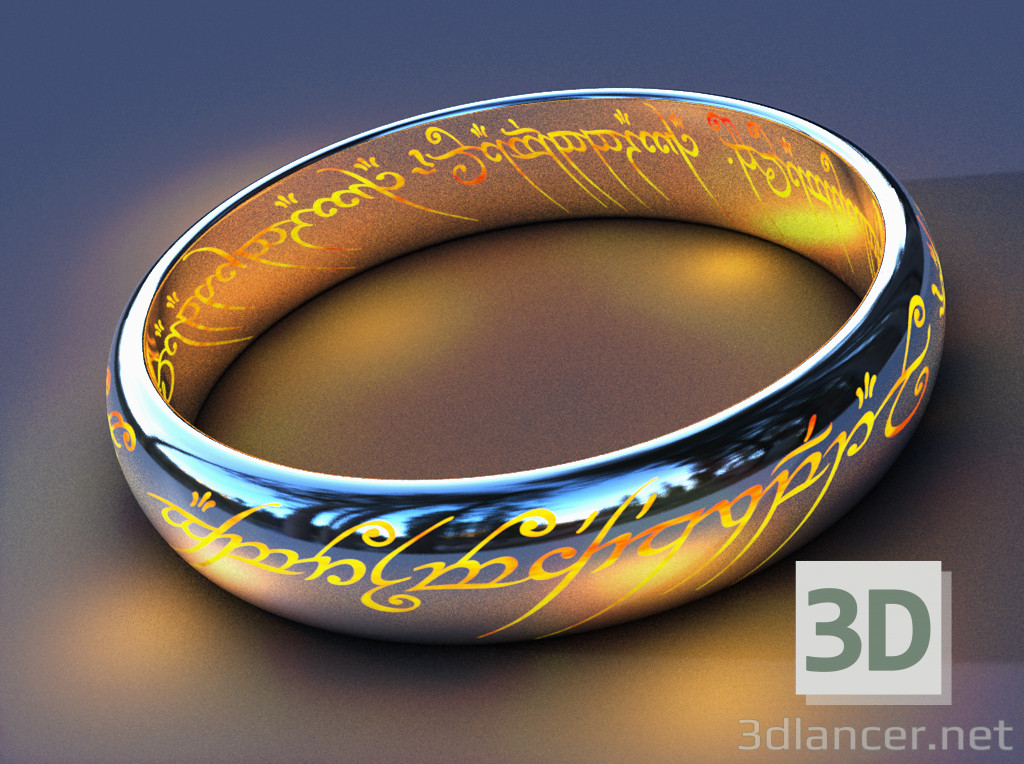 3d model The One Ring - preview