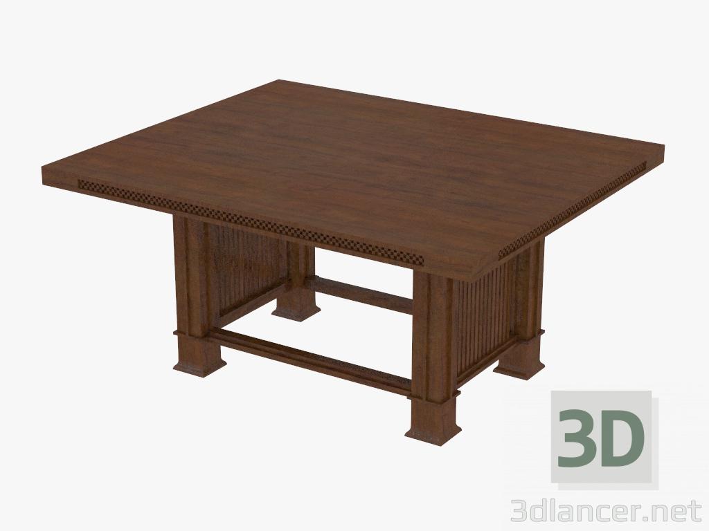 Tavoli Da Pranzo Cassina.3d Modella Tavolo Da Pranzo 615 Husser Dal Produttore Cassina Id 21287