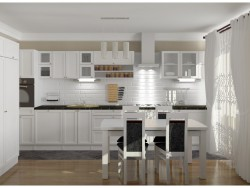 The kitchen in the style of southern France