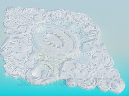 3d modeling Ceiling outlet model free download