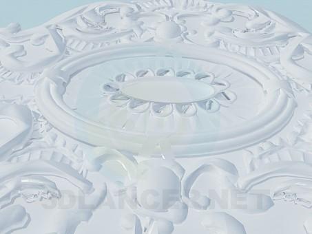 modelo 3D Salida de techo - escuchar
