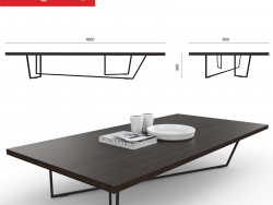 modelo de café Tabla Calligaris LOW-T
