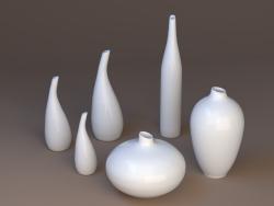 Jarrones de porcelana