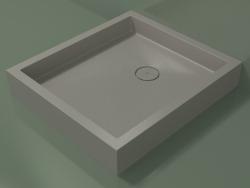 Shower tray Alto (30UA0137, Clay C37, 80x90 cm)