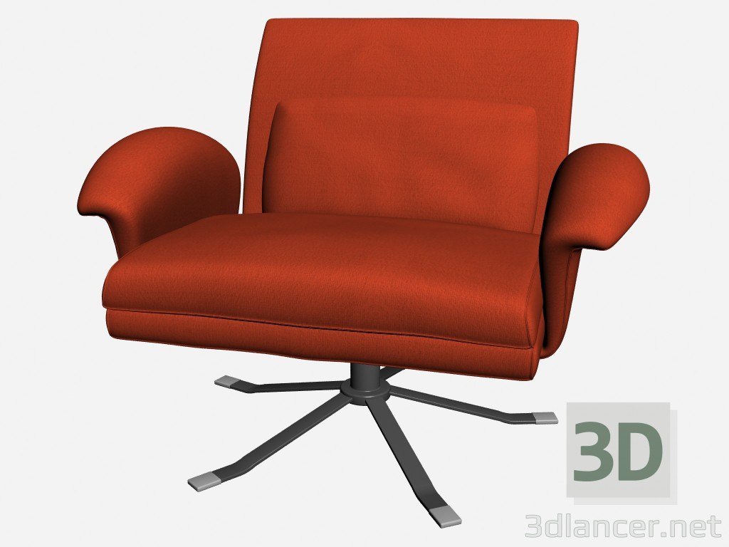 3d model Chair Park 1 - preview