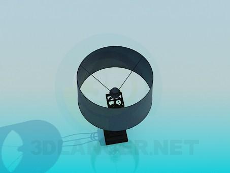 modelo 3D Lámpara de mesa en la pierna de cristal - escuchar