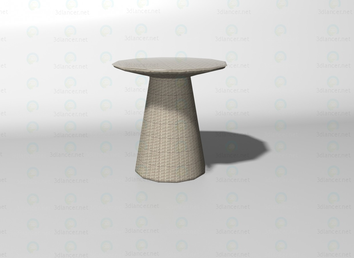 3d model Mushroom table - preview