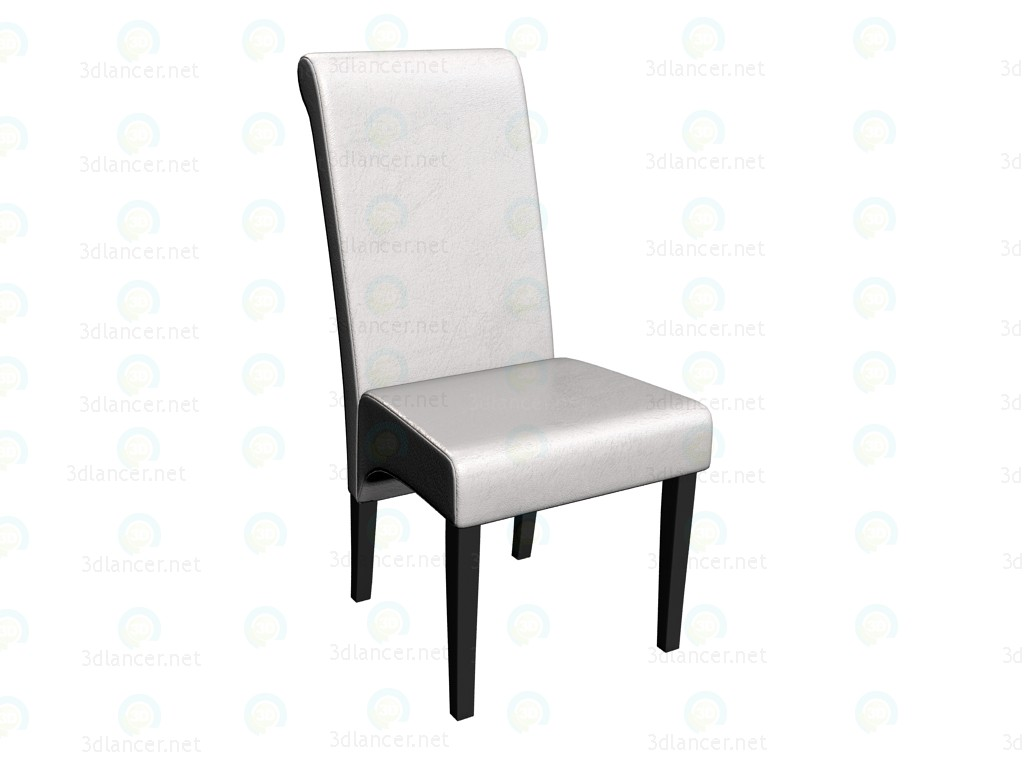 """3d modeling Chair """"Isis Coffee/Milk"""" model free download"""