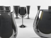Стеклянные чашки