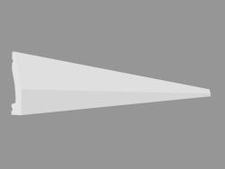 Plinth DX159-2300 (230 x 6 x 1.2 cm)