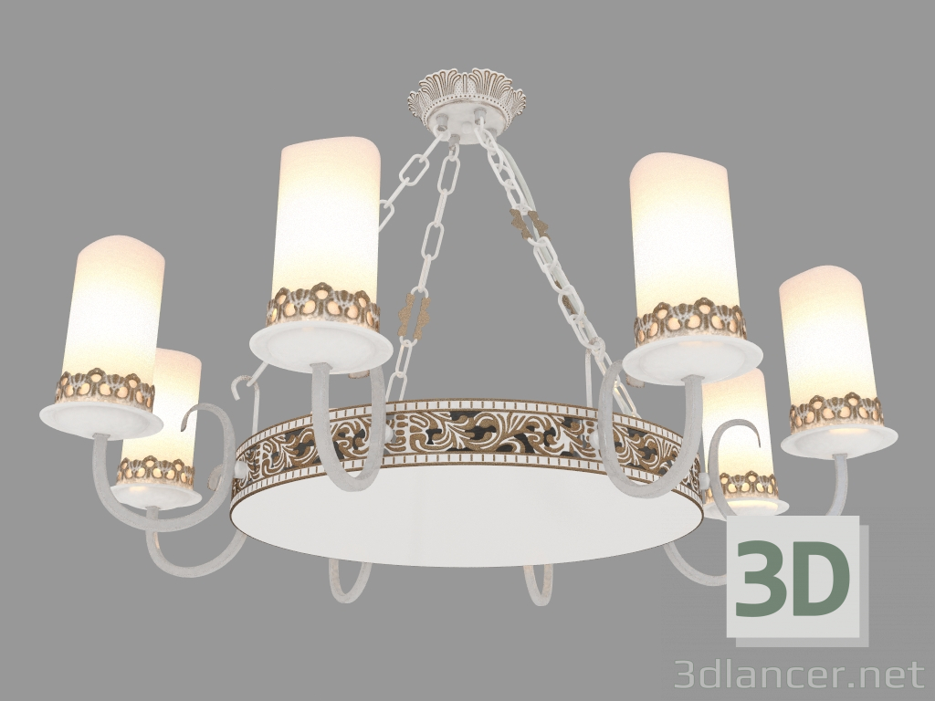 3d model Chandelier PALAZZO (ARM562-08-W-2),Maytoni max(2013