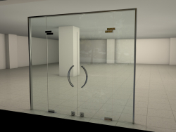 Glass Shop Door