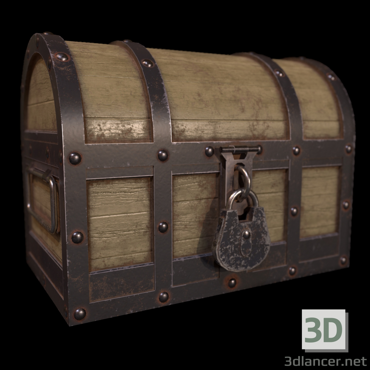 3d model CMRF Chest - preview