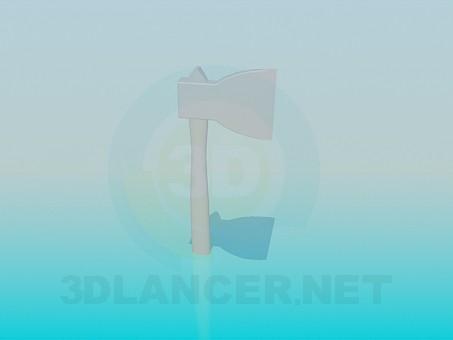 3d модель Сокира – превью