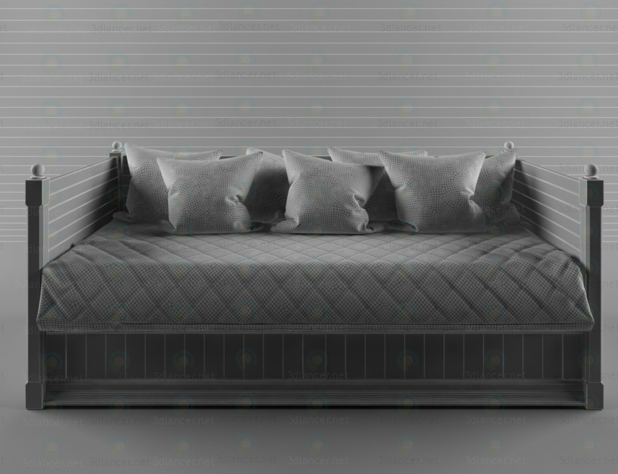 3d model The bed-couch - preview
