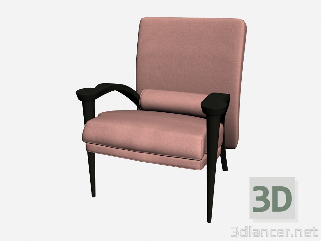 3d modeling Armchair 1 Ryno model free download