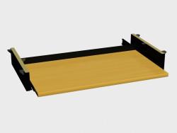 Suite de mesa accesoria Mono (regimiento RK640 debajo del teclado)