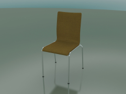 4-leg high back chair with fabric upholstery (104)