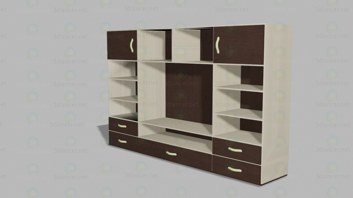 3d Closet model buy - render