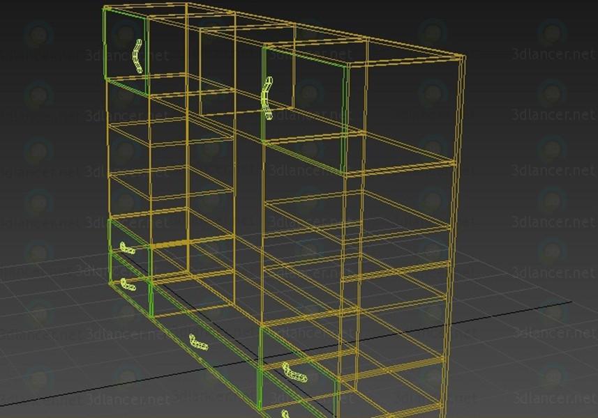 Armario 3D modelo Compro - render