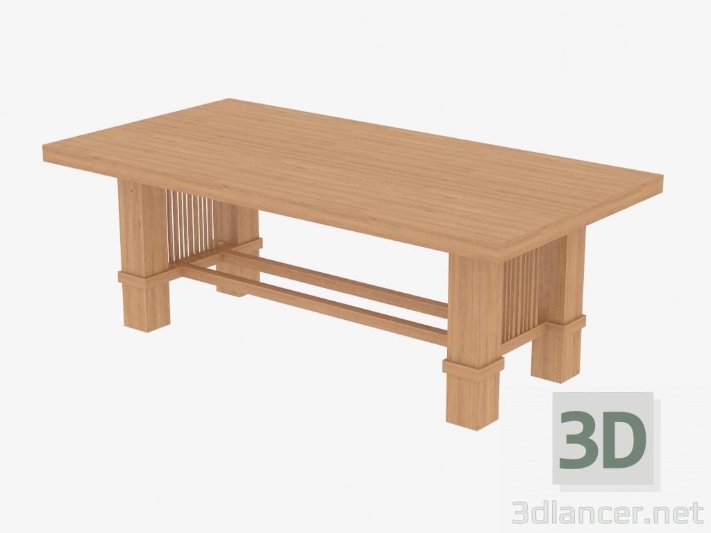 Tavoli Da Pranzo Cassina.Download Gratuito Di Modello 3d Tavolo Da Pranzo 608 Taliesin 2